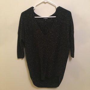 Black Sparkly Sweater